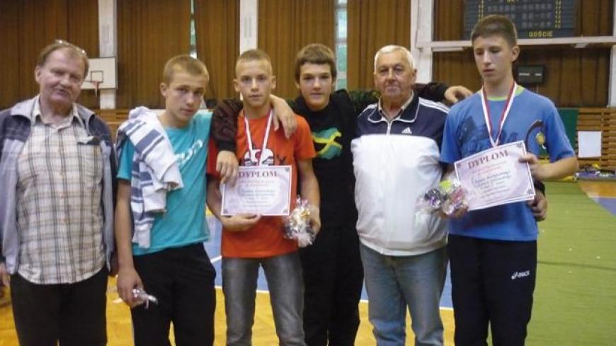 I miejsce w turnieju badmintona w Sulęcinie