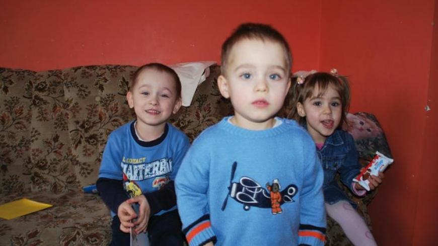 3 urodziny trojaczków