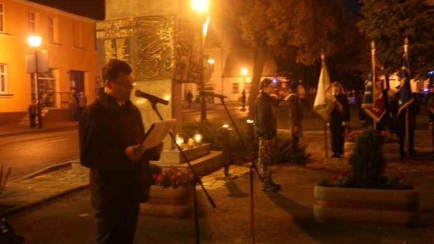 Obchody 74 rocznicy rozstrzelania przez hitlerowców mieszkańców Kostrzyna, Nekli i okolic