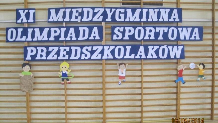 XI Międzygminna Olimpiada Przedszkolaków