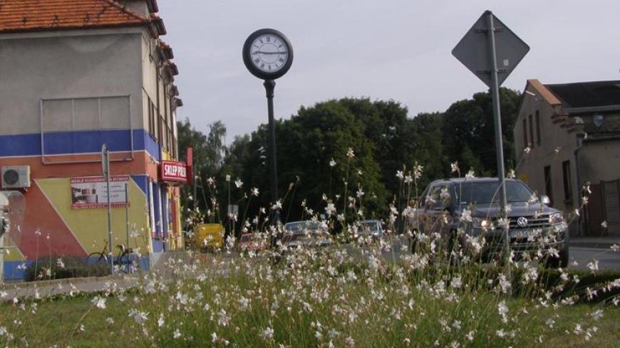 Nowy zegar w Nekli