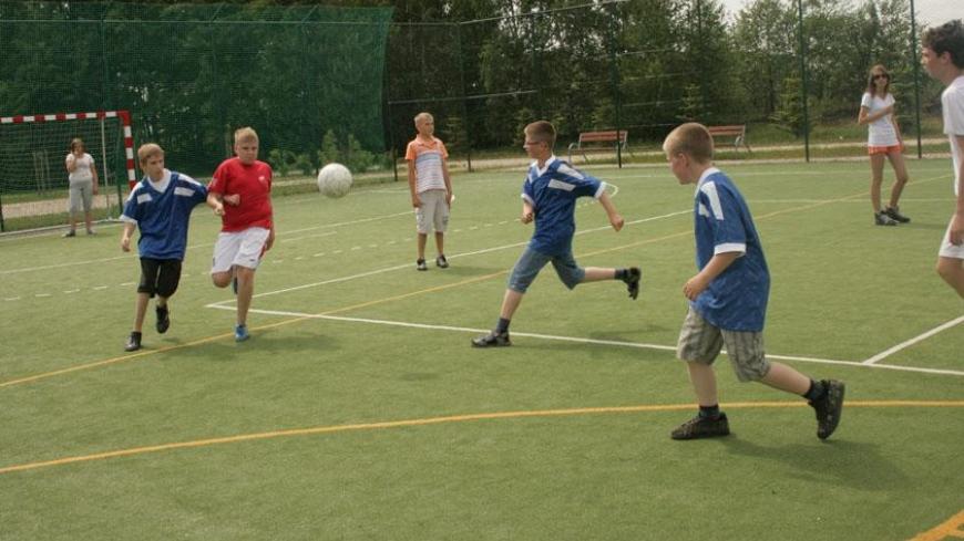 Szkolny Turniej Ligi Piłki Nożnej w Zasutowie