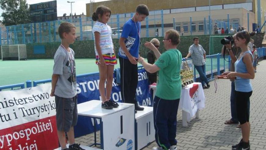 Wyjazdy dzieci z Targowej Górki na imprezy sportowo-kulturalne do Gniezna