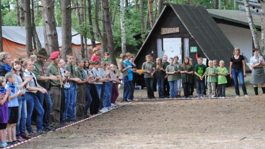 Obóz harcerski  Wilcze 2011