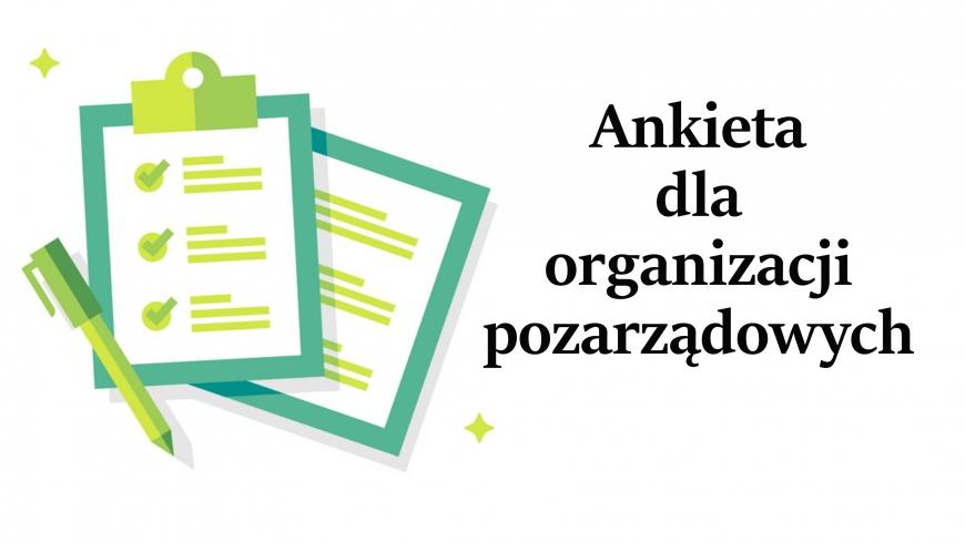 Ankieta dla organizacji pozarządowych