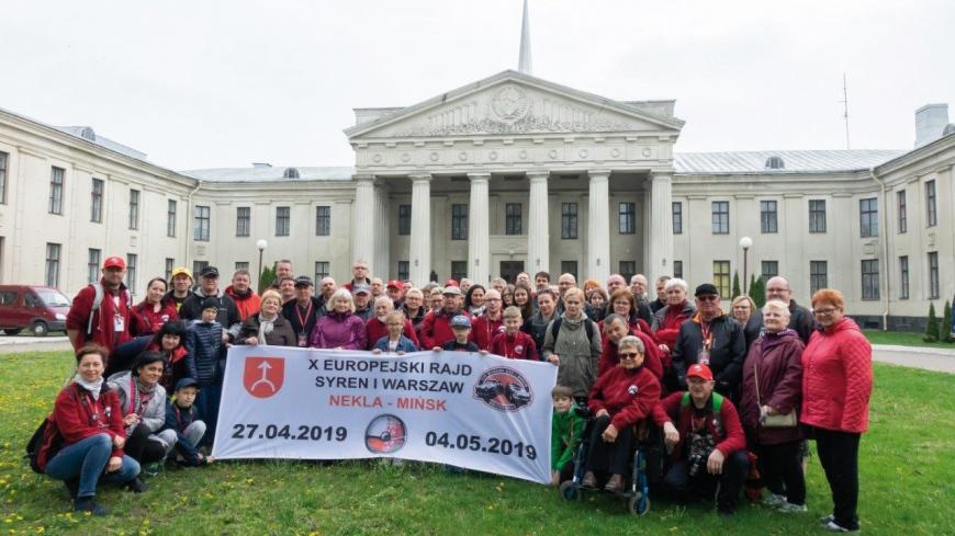 """""""Podróż w czasie""""  X Europejski Rajd Syren i Warszaw Nekla-Mińsk"""