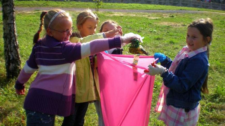 Sprzątanie Świata w Zespole Szkół w Nekli