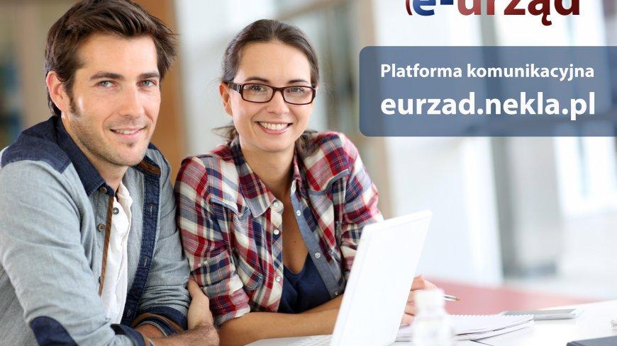 Zachęcamy do korzystania z platformy komunikacyjnej eurzad.nekla.pl