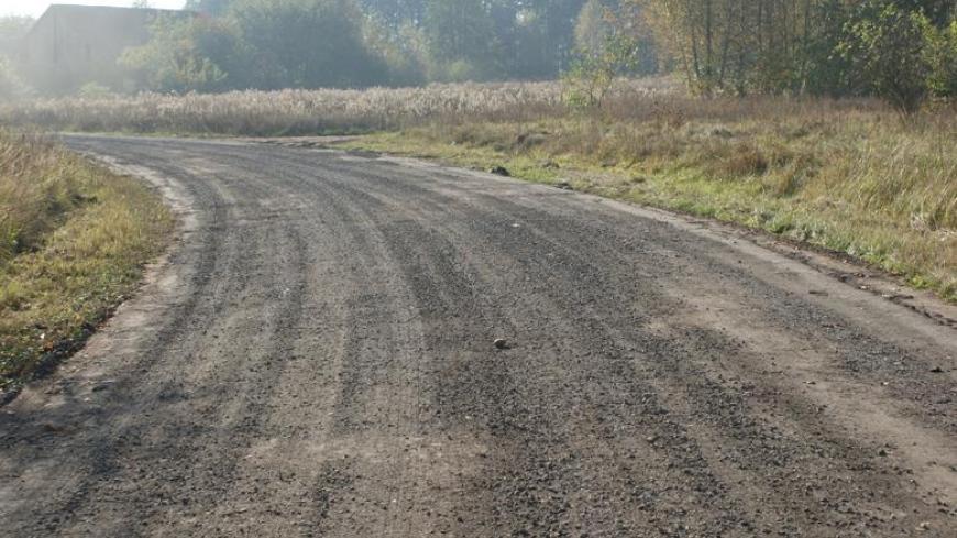 Wyremontowano drogę w Zasutowie