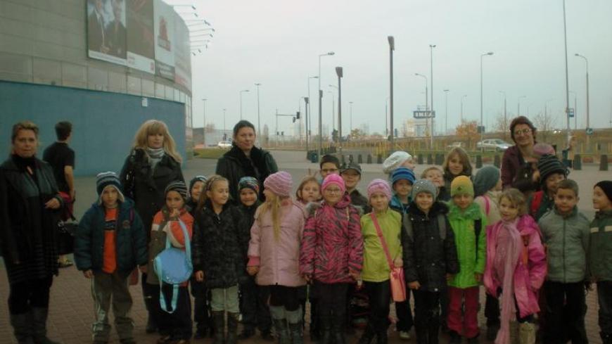 Wycieczka klas Ia i IIc ze Szkoły Podstawowej w Nekli do Kinepolis w Poznaniu