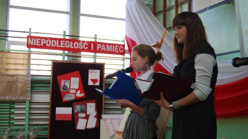 Podsumowanie projektu dla gimnazjalistów z Nekli, Targowej Górki i Zasutowa