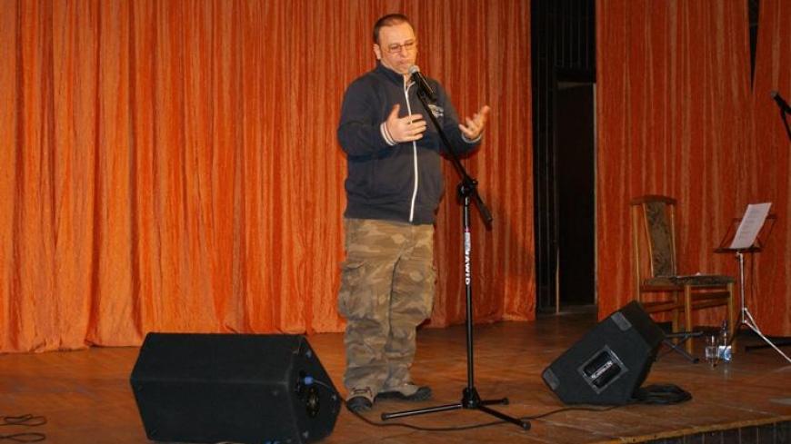 Grzegorz Halama w Nekielskim Ośrodku Kultury